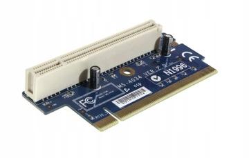 Riser MICRO-STAR MS-4034 N1996 90 stopni PCI-PCI доставка товаров из Польши и Allegro на русском