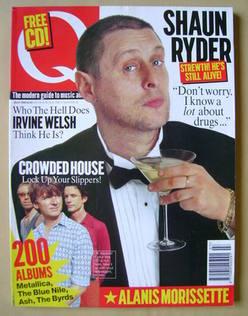 Q Magazine lipiec 1996 Shaun Ryder Crowded House доставка товаров из Польши и Allegro на русском