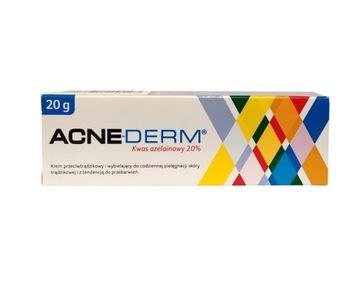 ACNE-DERM acnederm азелаиновая Кислота 20% АКНЕ 20 г доставка товаров из Польши и Allegro на русском