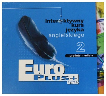 NOWY multimedialny kursy angielskiego EURO PLUS 2 доставка товаров из Польши и Allegro на русском