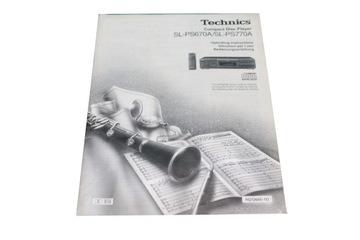 Instrukcja - Technics SL-PS670A SL-PS770A доставка товаров из Польши и Allegro на русском
