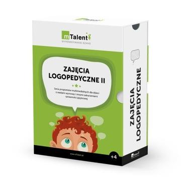 mTalent Zajęcia logopedyczne II + lustro logoped. доставка товаров из Польши и Allegro на русском