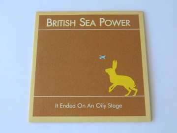 British Sea Power It Ended On An Oily Stage CD SIN доставка товаров из Польши и Allegro на русском