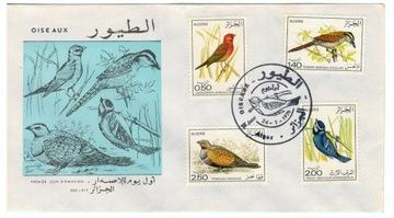 FDC Марки Алжир 1976 птицы доставка товаров из Польши и Allegro на русском