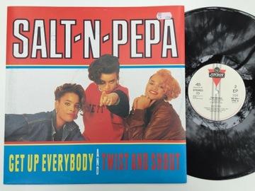 Salt-N-Pepa Get Up Everybody / Twist [EX/VG] C111 доставка товаров из Польши и Allegro на русском