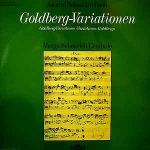 L - Bach Scheurich - Goldberg-Variationen, Aria... доставка товаров из Польши и Allegro на русском
