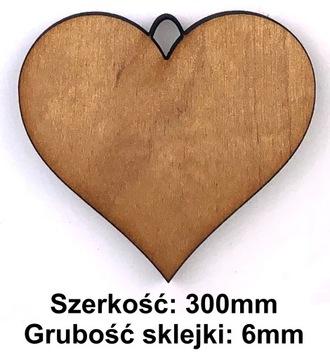 DREWNIANE SERCE SERDUSZKO DECOUPAGE ZAWIESZKA 30cm доставка товаров из Польши и Allegro на русском