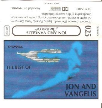 Jon And Vangelis - The Best Of доставка товаров из Польши и Allegro на русском