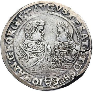 + Саксония - Альбертина Линии - 1 Доллар 1608 Серебро доставка товаров из Польши и Allegro на русском