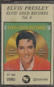 Элвис Пресли vol. 4 Gold Records MC доставка товаров из Польши и Allegro на русском