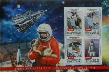 Sputnik 2 pies Łajka lot w kosmos ark. #CDI17-09 доставка товаров из Польши и Allegro на русском