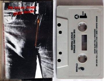 The Rolling Stones - Sticky Fingers (USA) (MC) BDB доставка товаров из Польши и Allegro на русском