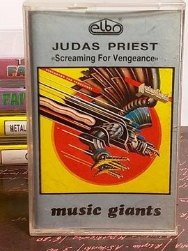 JUDAS PRIEST - SCREAMING FOR VEGANCE - MC доставка товаров из Польши и Allegro на русском