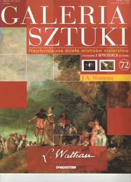 Galeria sztuki J.A.Watteau t.72 + reproducja доставка товаров из Польши и Allegro на русском