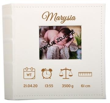 АЛЬБОМ МАЛЫША Metryczka 200 фотографий Крещение Сувенир доставка товаров из Польши и Allegro на русском