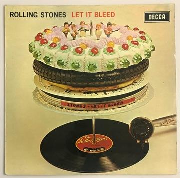 Rolling Stones - Let It Bleed LP SKL5025 оч доставка товаров из Польши и Allegro на русском
