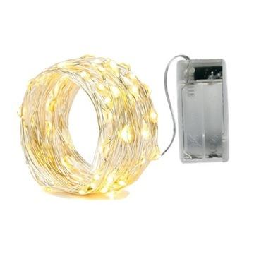 LAMPKI DRUCIKI 10 LED NA BATERIE LAMPKI CHOINKOWE доставка товаров из Польши и Allegro на русском