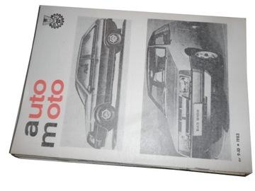 Auto moto автомобильный журнал FSO годы, конец 80-ых 18x доставка товаров из Польши и Allegro на русском