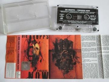Die Krupps- Paradise Now kaseta Metal Mind 1997 доставка товаров из Польши и Allegro на русском