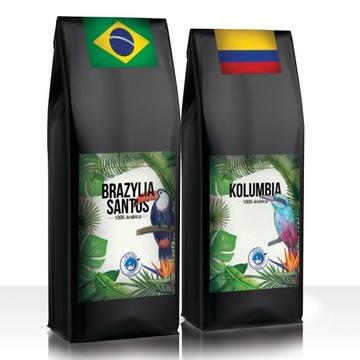 Kawa ZIARNISTA 2kg ŚWIEŻO PALONA Arabika 100%