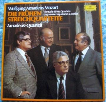 Mozart Die Frühen Streichquartette - DG 1977 3LPVG доставка товаров из Польши и Allegro на русском