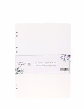 Karty wkład do albumu do wklejania 24x32 białe доставка товаров из Польши и Allegro на русском
