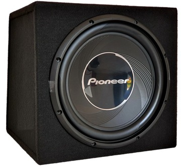 Коробка бас сабвуфер PIONEER 30 см МДФ 1400ВТ доставка товаров из Польши и Allegro на русском