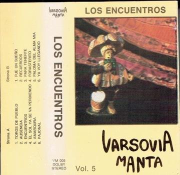 Varsovia Manta Vol. 5 Los Encuentros /MC доставка товаров из Польши и Allegro на русском
