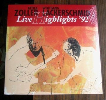 Аттила Цоллер / Wolfgang Lackerschmid - Live'92 LP доставка товаров из Польши и Allegro на русском