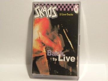 КАРТРИДЖ MC SKAOS BACK TO LIVE 12 LIVE TRACKS доставка товаров из Польши и Allegro на русском