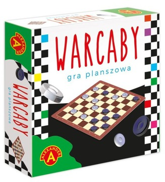 Gra Planszowa Warcaby Podróżna Mikro Alexander доставка товаров из Польши и Allegro на русском