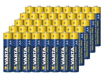 44 шт аккумуляторы VARTA LR6 AA 1,5 V Industrial Pro доставка товаров из Польши и Allegro на русском