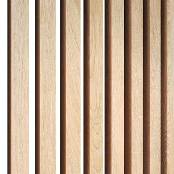 Lamele drewniane na ścianę PRÓBKA listwy pionowe доставка товаров из Польши и Allegro на русском