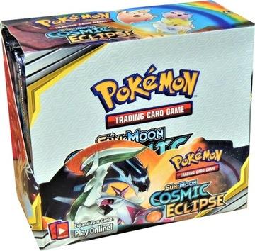 karty pokemon GREY BOX 36szt booster 288 kart доставка товаров из Польши и Allegro на русском