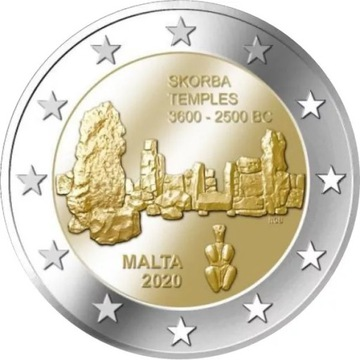 Malta - 2 Euro - Twierdza Skorba 2020 доставка товаров из Польши и Allegro на русском