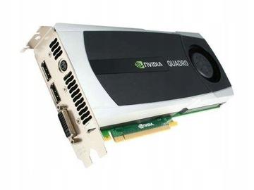 ВИДЕОКАРТА GeForce QUADRO 6144MB DDR5 DVI доставка товаров из Польши и Allegro на русском