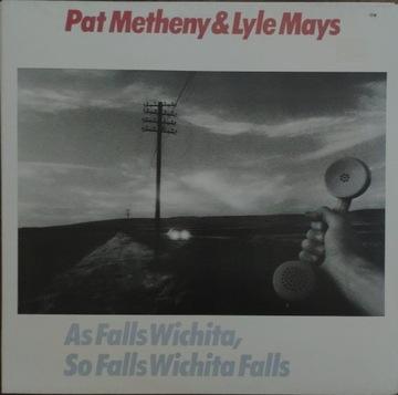 Pat Metheny As Falls Wichita ECM LP доставка товаров из Польши и Allegro на русском