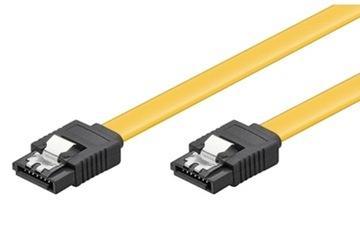 Кабель SATA III 50см Powertech SATA 3 6 ГБ/с Прост доставка товаров из Польши и Allegro на русском