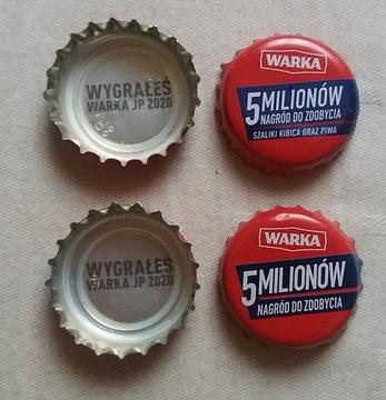 Крышечку от пива - ВАРКА 2020 - выигрыш 2 сорта доставка товаров из Польши и Allegro на русском