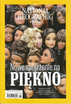 National Geographic 6/2020 Nowe spojrzenie piękno доставка товаров из Польши и Allegro на русском