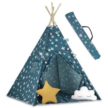 TIPI namiot dla dzieci TEEPEE Girlanda Poduszki доставка товаров из Польши и Allegro на русском