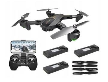 Dron Visuo XS812 812G-W-4K GPS 5G WiFi FPV 3 AKU доставка товаров из Польши и Allegro на русском