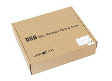 Корпус, DVD-Привод Пишущий привод USB-CD SATA 12,7 мм доставка товаров из Польши и Allegro на русском
