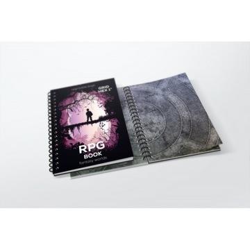 Книга RPG A4 - сетка hexagonal доставка товаров из Польши и Allegro на русском