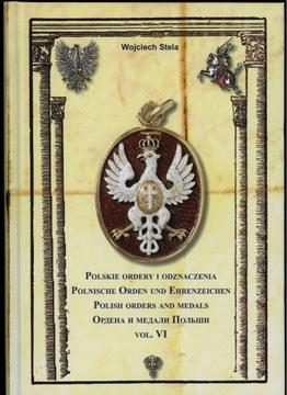 Polskie Ordery i Odznaczenia - tom VI доставка товаров из Польши и Allegro на русском
