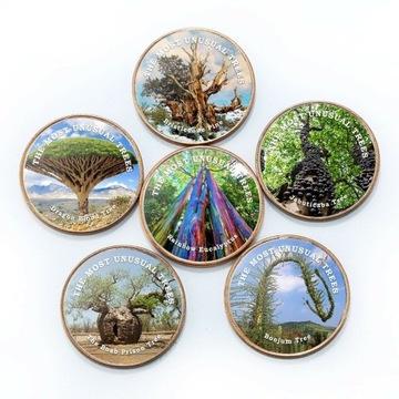 СОМАЛИЛАНД набор из 6 монет 2020 Цвет деревьев  доставка товаров из Польши и Allegro на русском
