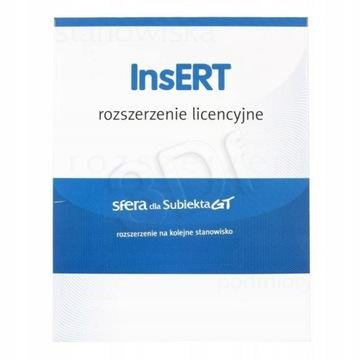 InsERT Сфера Субъект GT расширение +1 пост доставка товаров из Польши и Allegro на русском