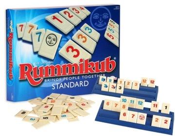GRA RUMMIKUB STANDARD rodzinna gra liczbowa доставка товаров из Польши и Allegro на русском