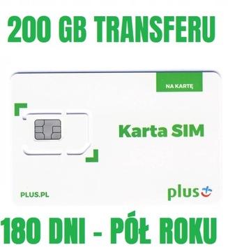 PLUS INTERNET NA KARTĘ iPLUS 200GB LTE 180 DNI доставка товаров из Польши и Allegro на русском