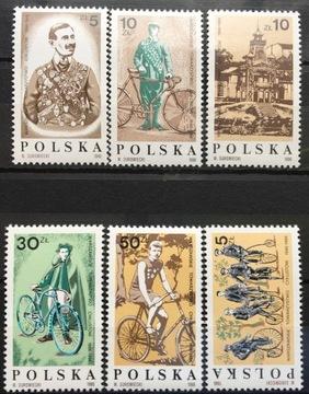 Fi 2921-2926 ** 1986 - 100 Общества Велосипедистов доставка товаров из Польши и Allegro на русском